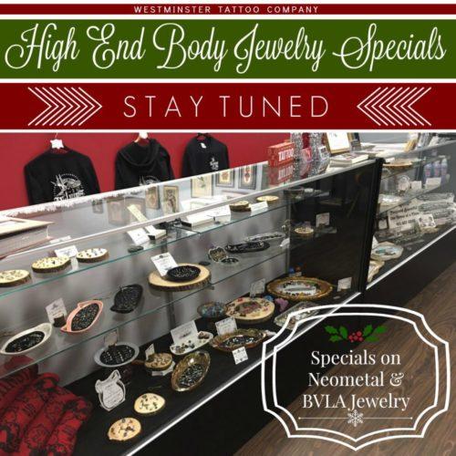 holiday body jewelry special